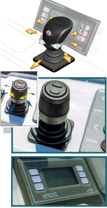 Yacht Controller Joystick Control System